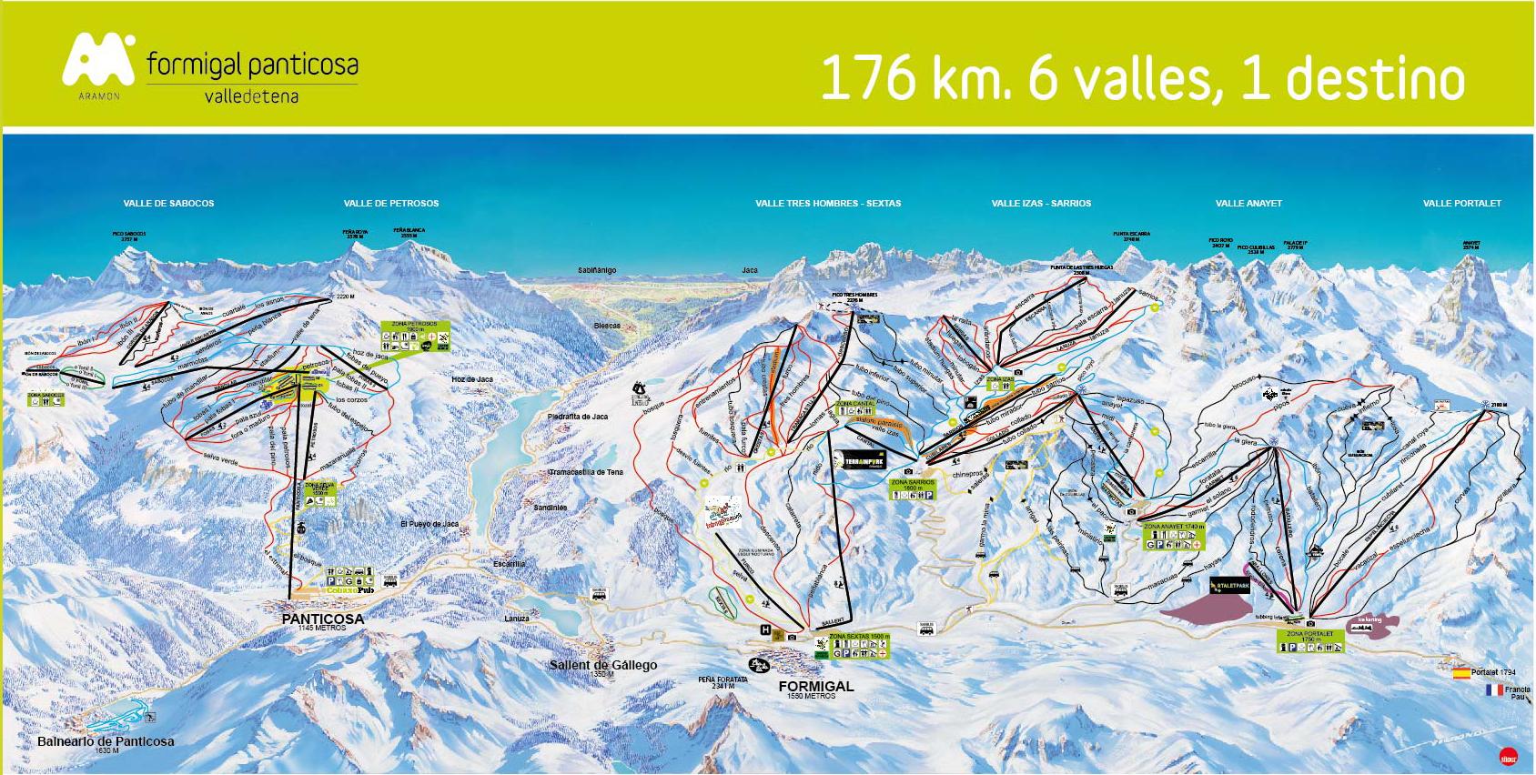 Formigal se une a panticosa creando un dominio de 176 km for Jardin de nieve formigal