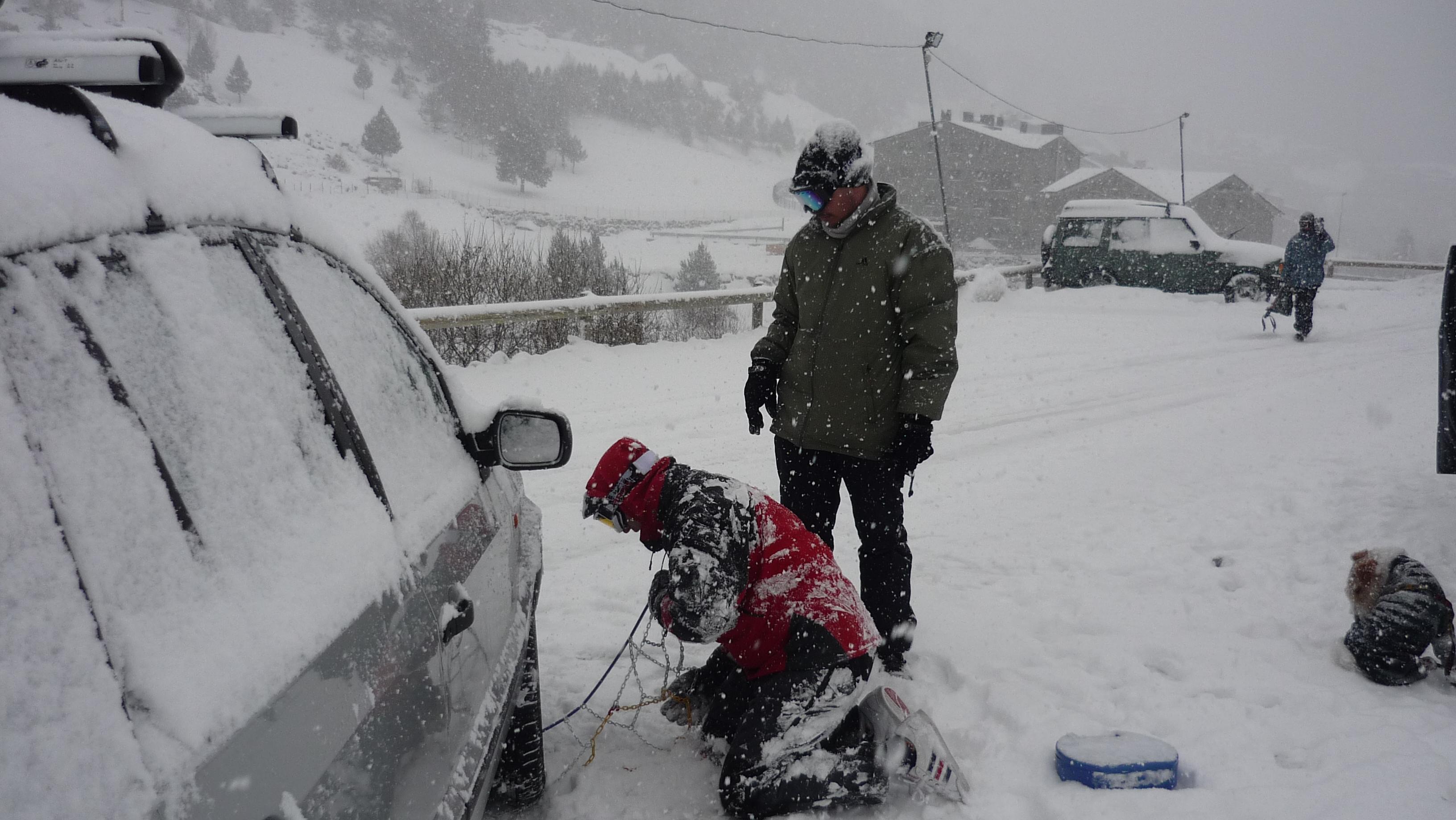 ¿Que hacer si nos coje una nevada?