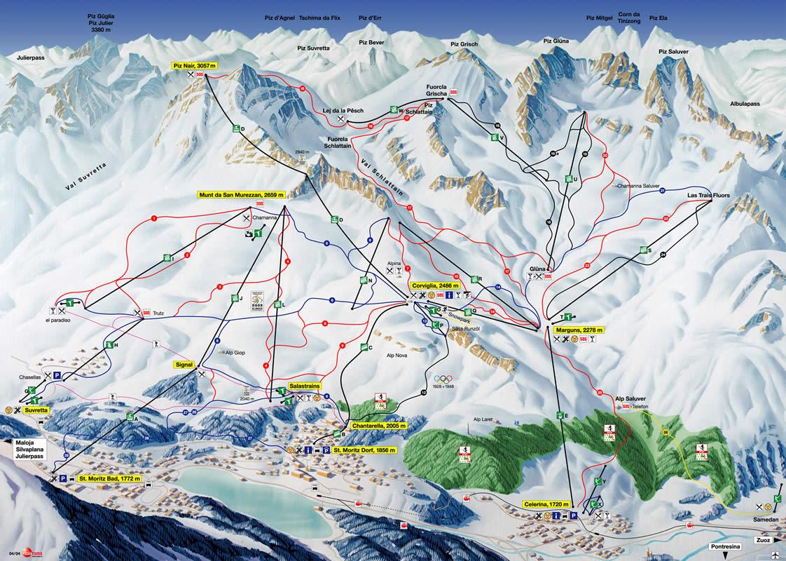 Plano de St. Moritz