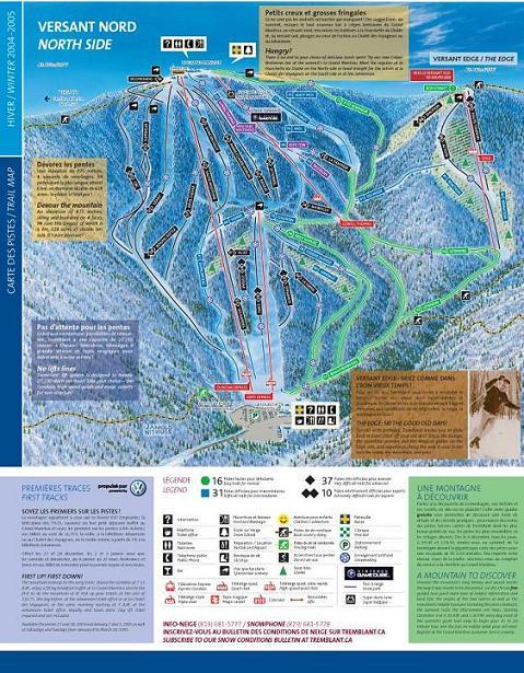 Plano de Mont Tremblant