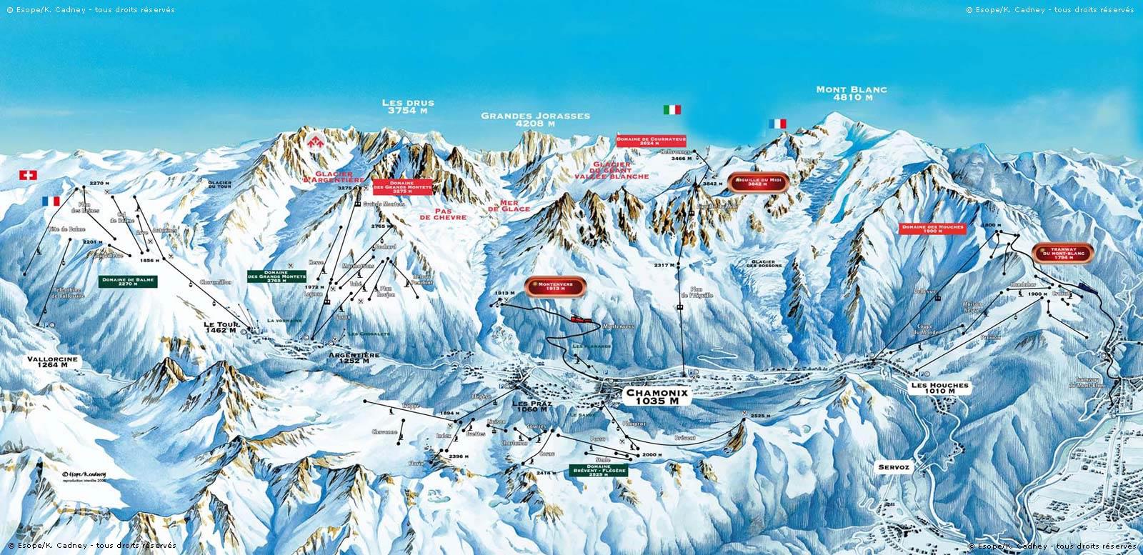 Plano de Chamonix