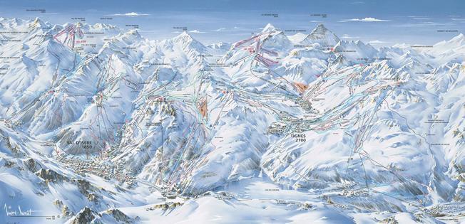 Plano de Val d Isere