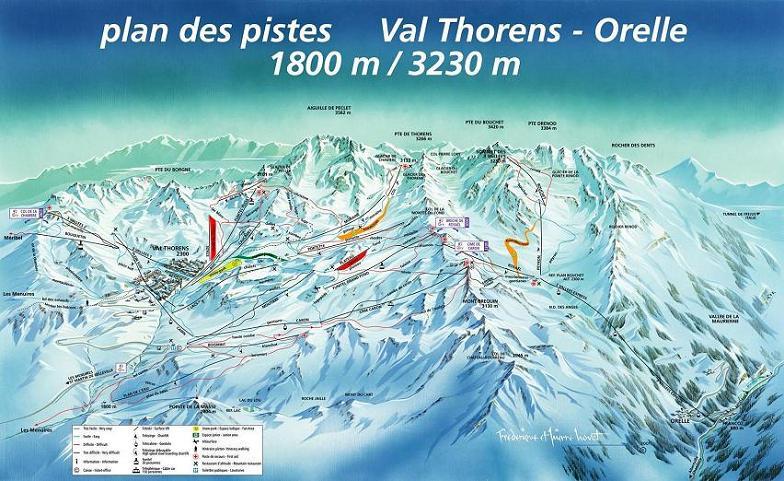 Plano de Val Thorens