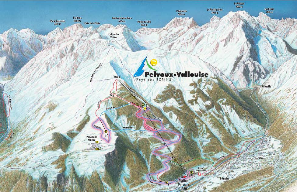 Plano de Pelvoux-Vallouise