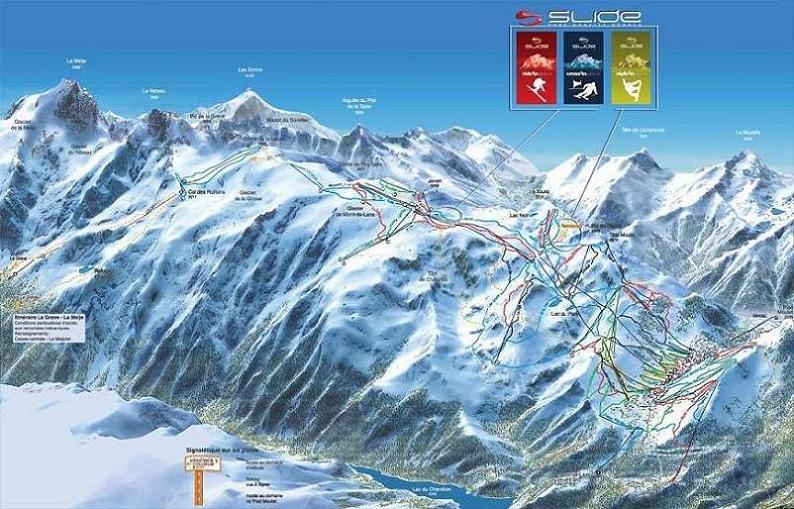 Mapa for Hotels 2 alpes