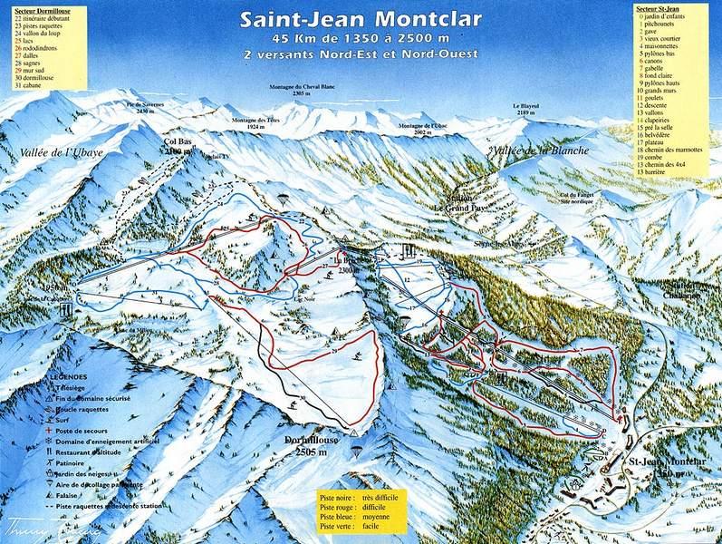 Plano de Saint Jean Montclar