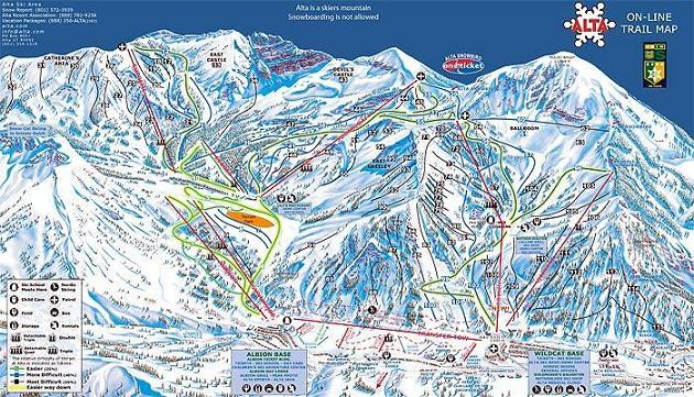 Plano de Alta Ski Area