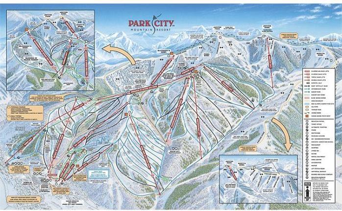 Plano de Park City Mountain Resort
