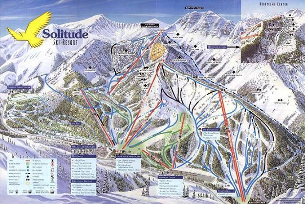 Plano de Solitude Mountain Resort