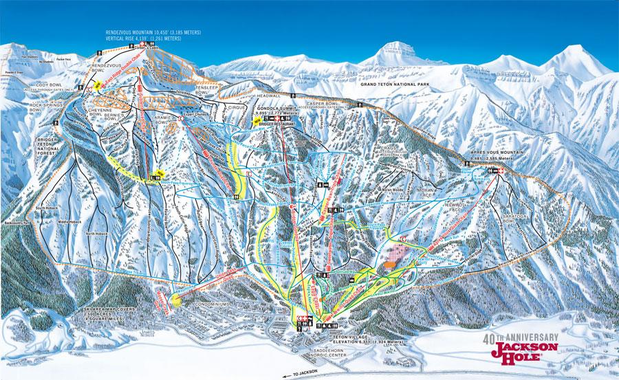 Plano de Jackson Hole