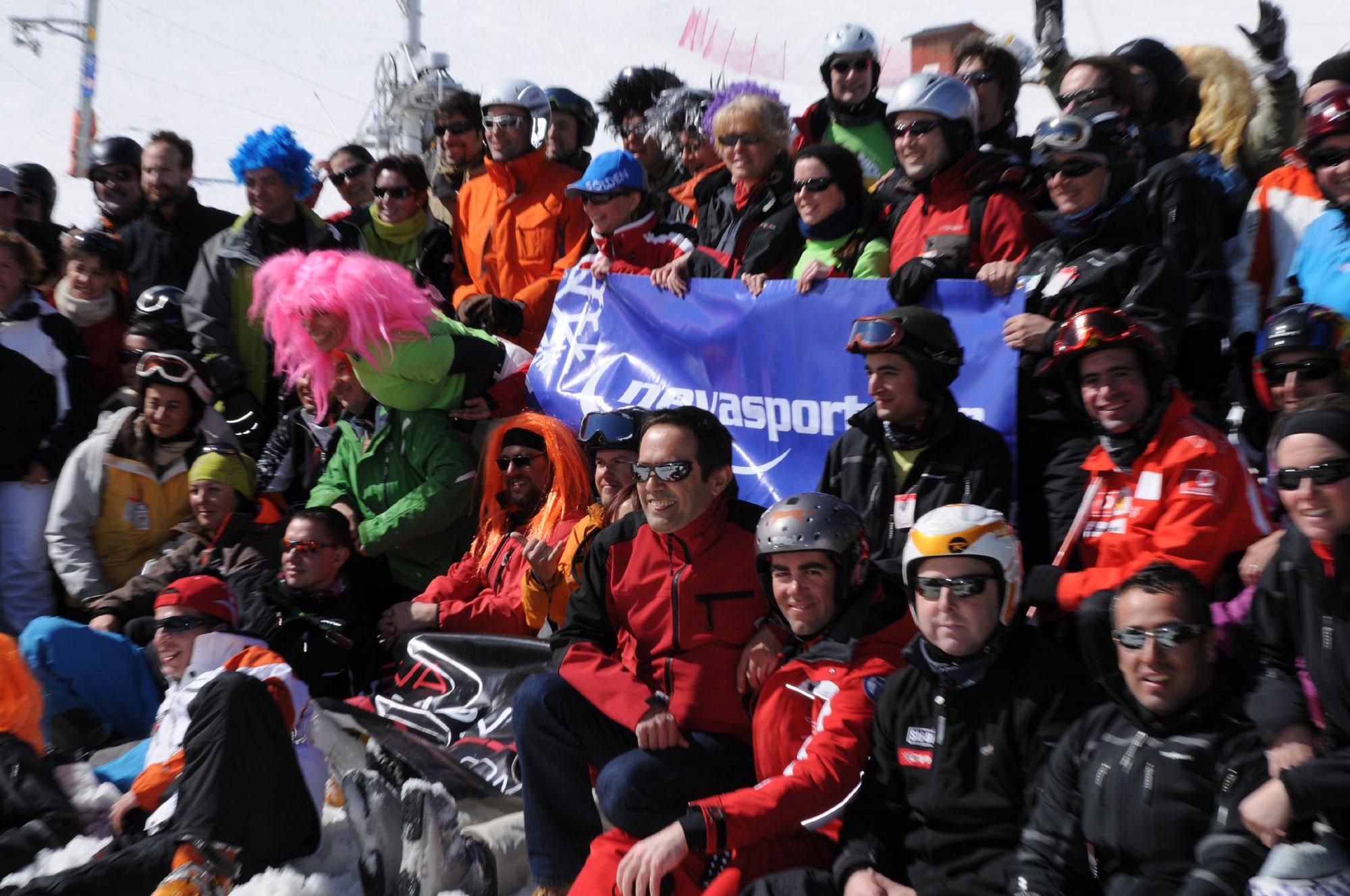Foto oficial grupo Kedada Nevasport 2010