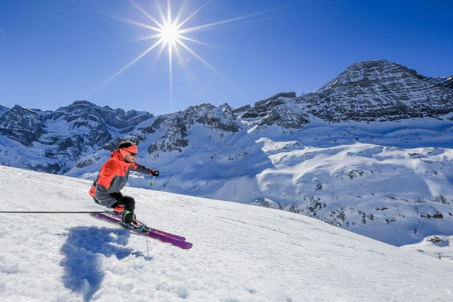 Gavrnie esqui