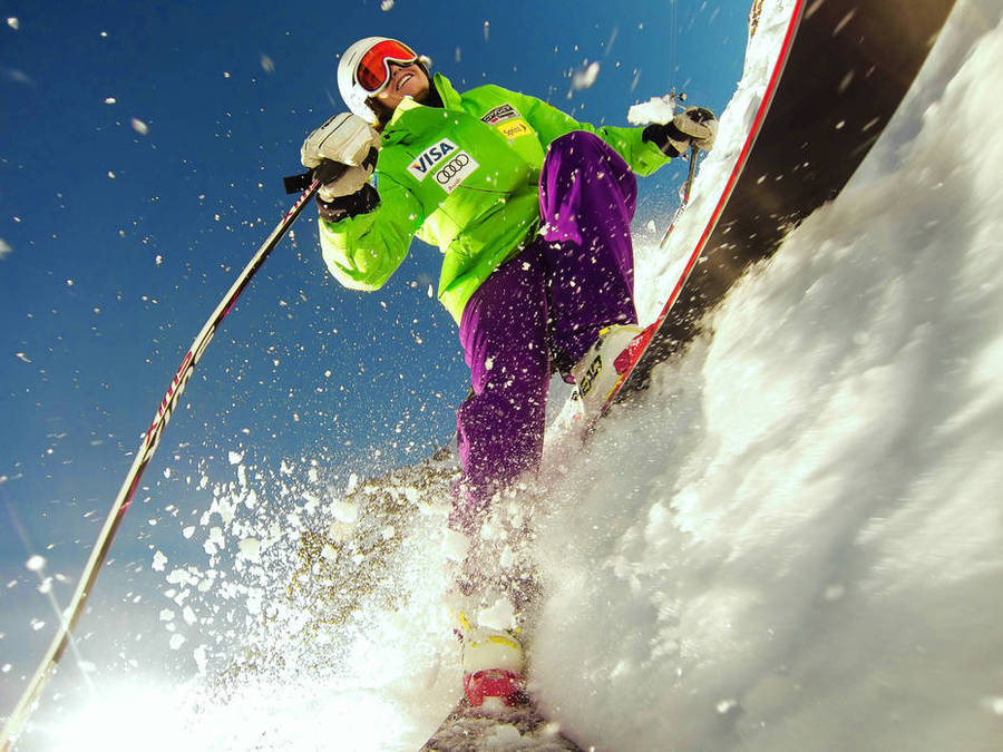 Julia Mancuso - Esquiades - GoPro