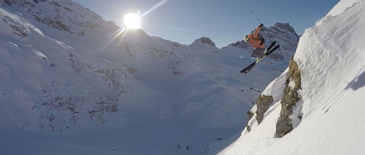 SwissLines, freeride en los alpes suizos