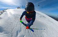 Me ha tocado la lotería del esquí!