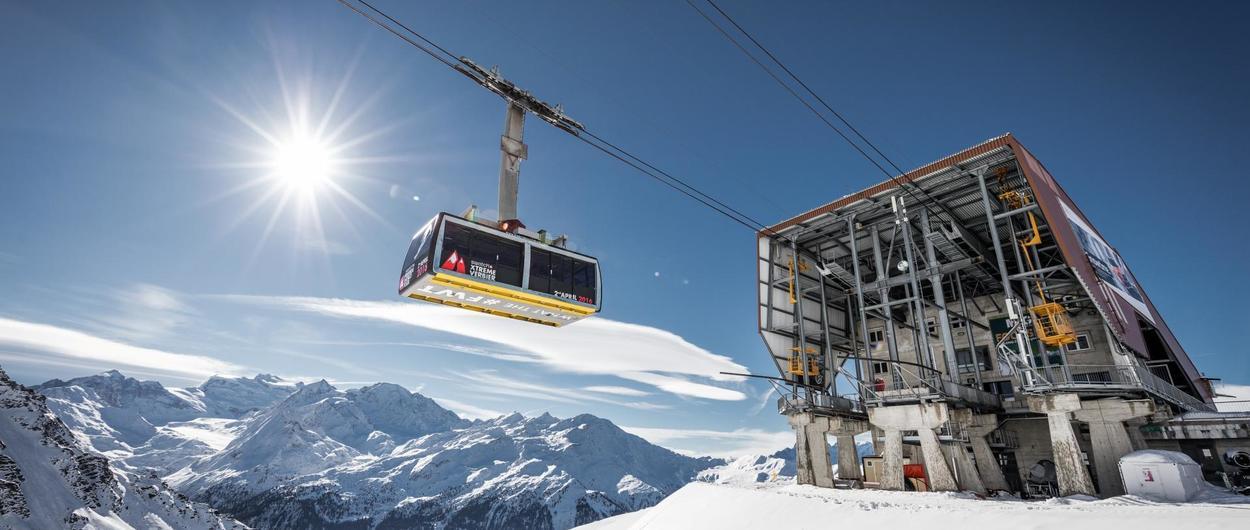Verbier sigue adelante con sus inversiones pese a la notable bajada de esquiadores