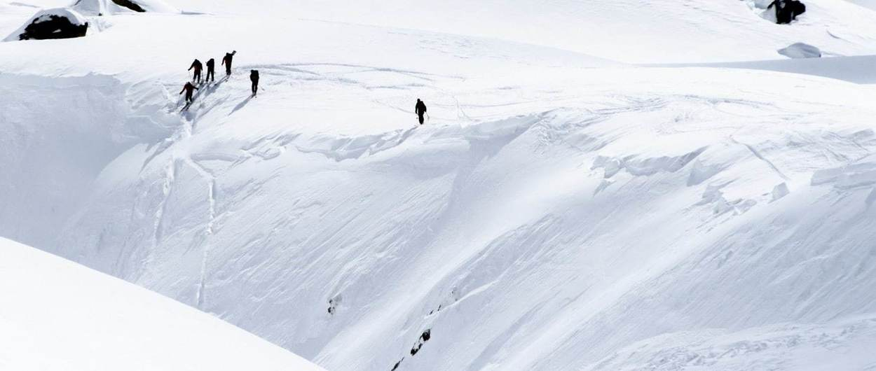 Tres españoles fallecen bajo un alud en los Alpes