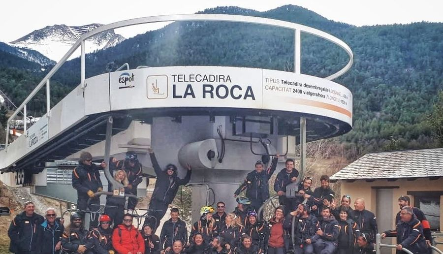 Telesilla de La Roca