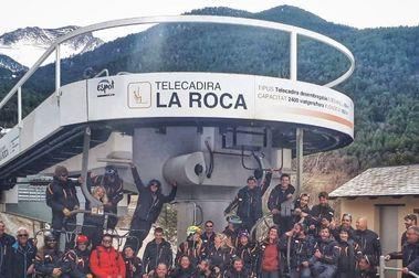 La última foto con La Roca de Espot al finalizar la temporada de esquí