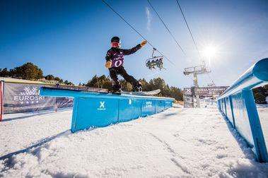 Michael Schaerer y julia Marino ganan el Total Fight Snowboard 2019