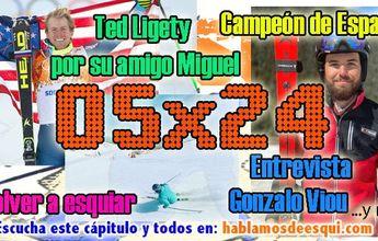 05x24 Ted Ligety por su amigo Miguel, Gonzalo Viou campeón de España y más!!