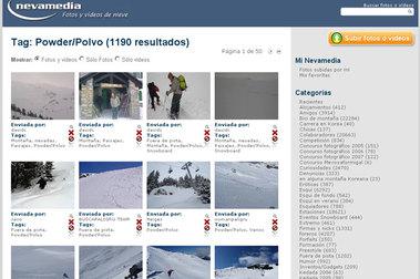 Fotos y Vídeos de nieve: La Nevamedia