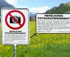 Bergün prohibe hacer fotos de sus paisajes
