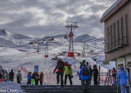 Valle  Nevado También abre el próximo Viernes 15