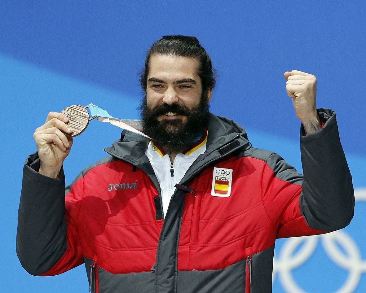Regino Hernandez Plata olimpica