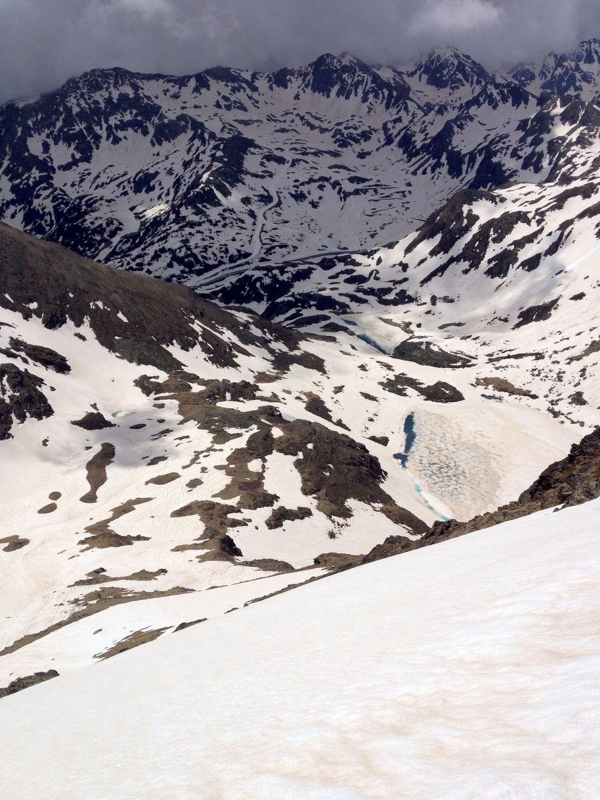 Esquí de Verano (Pic de Tristaina)