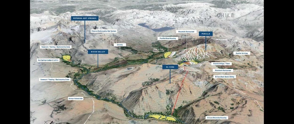 Proyecto El Azufre: ¡te mostramos el nuevo resort de esquí como nunca lo viste!
