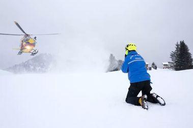 Francia duplicó el número de esquiadores fallecidos por avalanchas