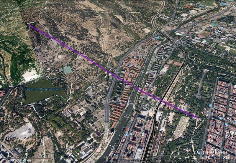 Vista Google Earth Telecabina