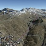 Vista Google Earth Valgrande Sierra Nevada Verano 2019