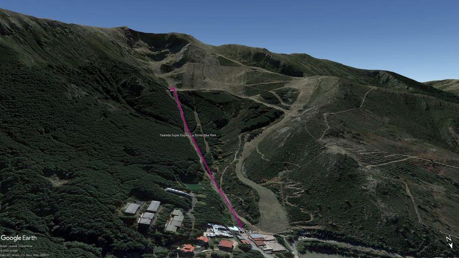 Vista Google Earth La Pinilla 2020