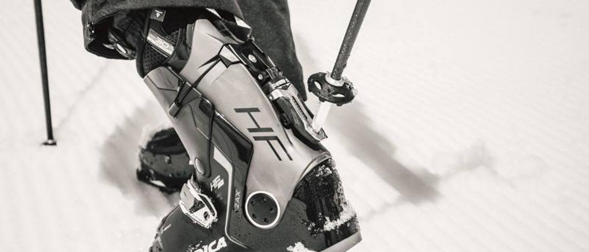 Nordica HF: la primera bota de esquí que te puedes poner sin agacharte ni usar las manos