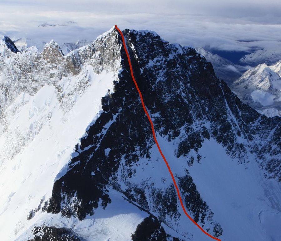 Dream Line de Lhotse