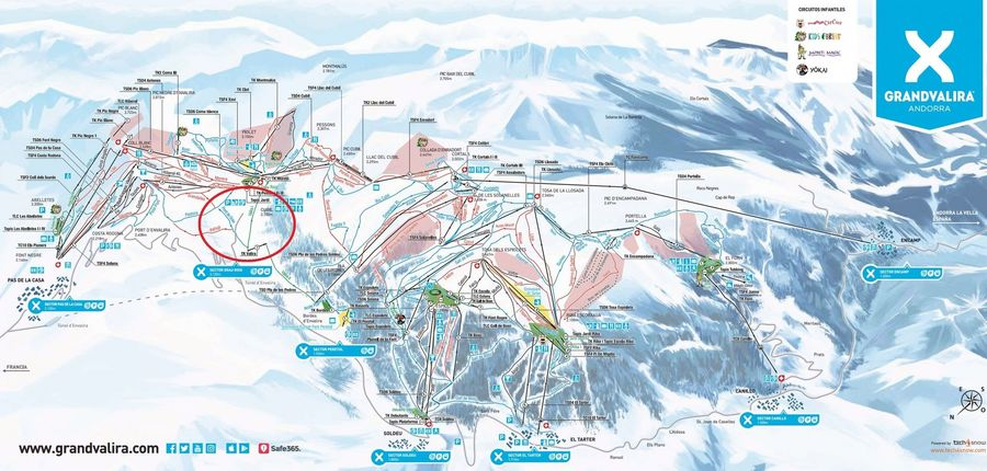 Grandvalira dos pistas nuevas de esqui