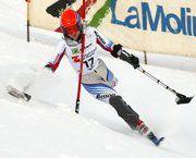 Cuatro españoles compiten en la segunda prueba de la Copa de Europa de Esquí Alpino