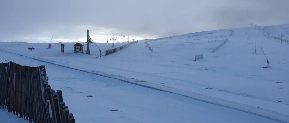 Serra da Estrela abre la temporada de esquí con solo dos snowboarders