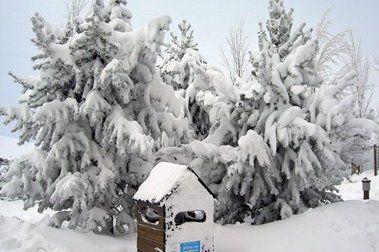 Caos y mucha nieve