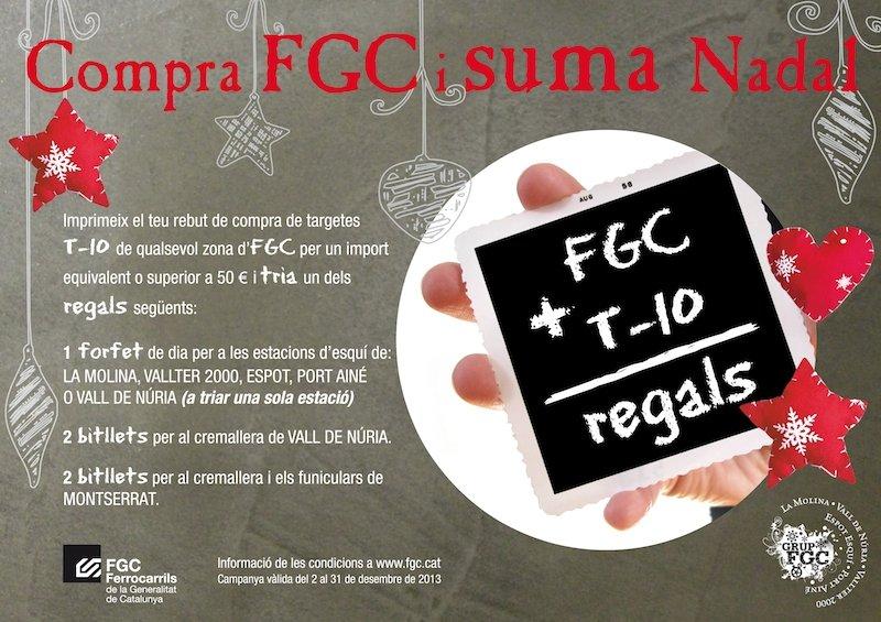 Campanya Compra FGC i suma Nadal