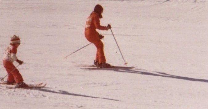 Madres del esquí. Y padres, claro.