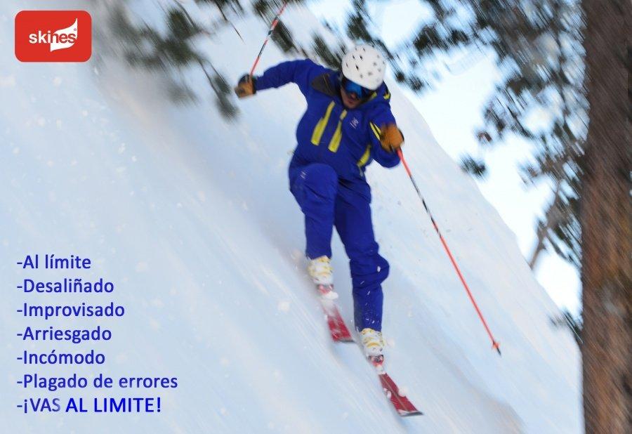 Esquiar bien o esquiar al límite...