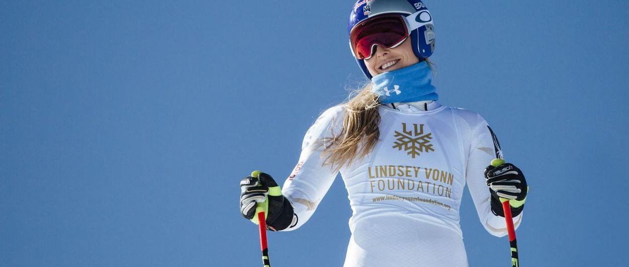 Lindsey Vonn competirá una temporada más tras su última lesión