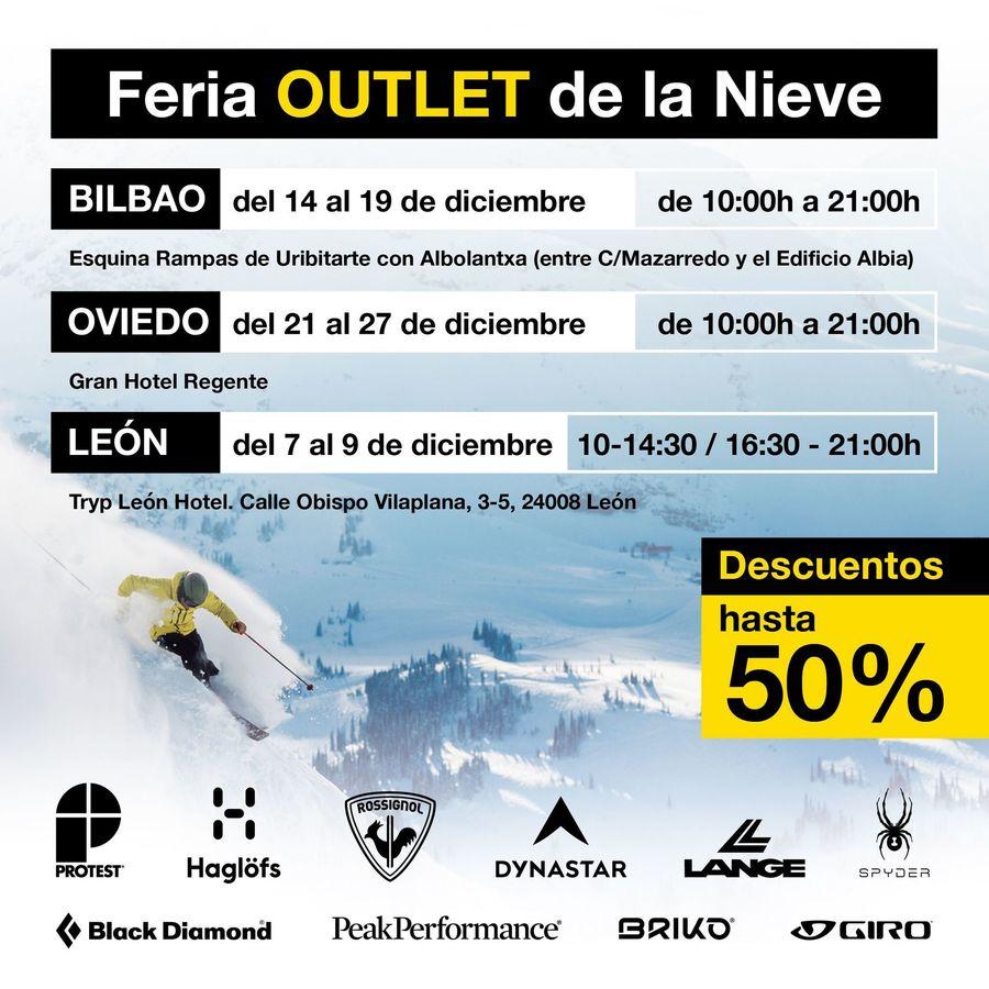 Feria Outlet de la Nieve de Megasport