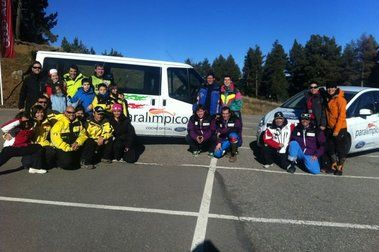 Concentración de esquí de menores FEDC