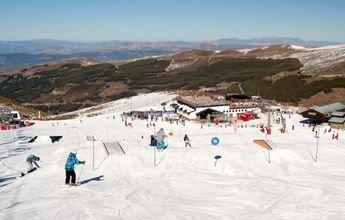 Sierra Nevada dispone del snowpark 'Sulayr' casi al completo