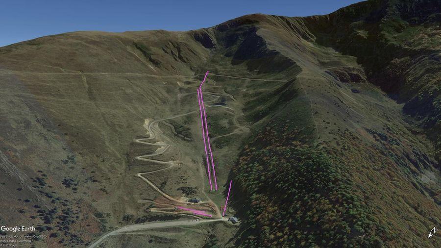 Vista Google Earth Pro Goulier Temporada 2020/21