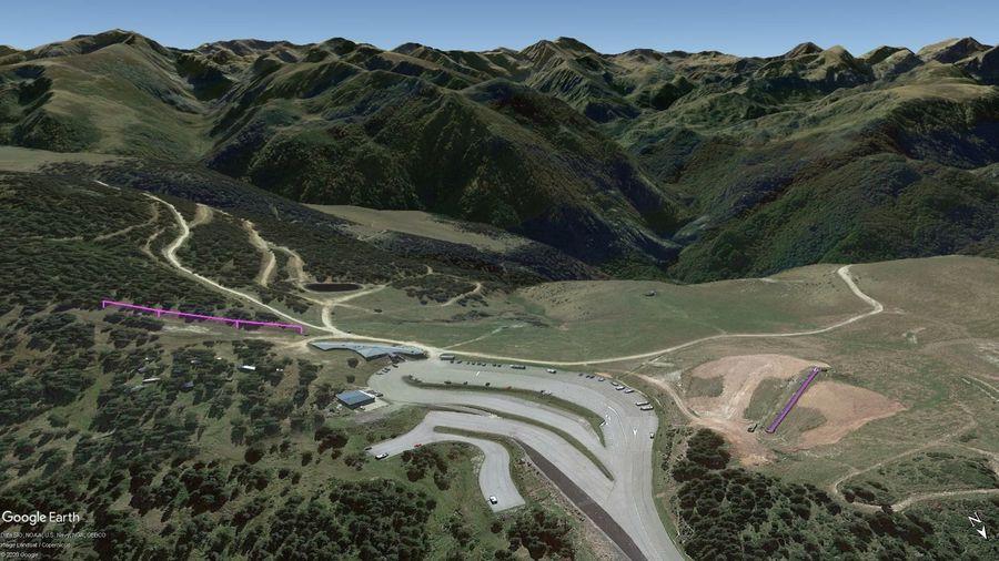 Vista Google Earth Pro Plateau de Beille Temporada 2020/21